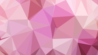 Pink Polygon Pattern Background Illustration