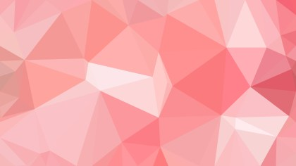 Pink Low Poly Background Template Vector Graphic