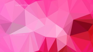 Abstract Pink Polygon Background Graphic