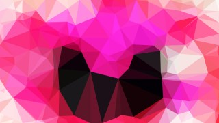 Abstract Pink and Black Polygon Triangle Background