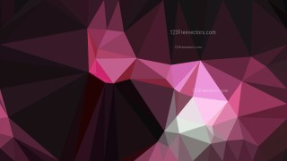 Abstract Pink and Black Low Poly Background Image