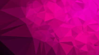 Abstract Pink and Black Polygon Background Design