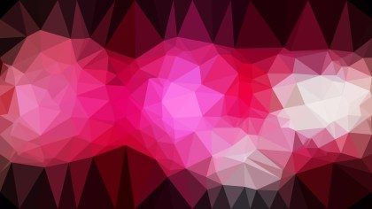 Abstract Pink and Black Polygon Background Graphic Design