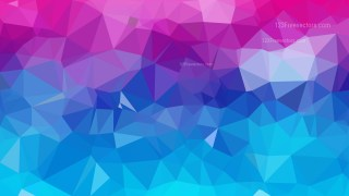 Pink and Blue Polygon Abstract Background Vector Graphic