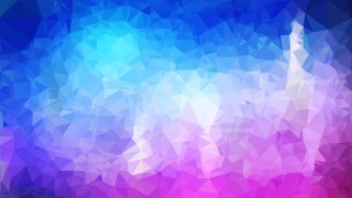 Pink and Blue Polygonal Abstract Background Design Vector Illustration