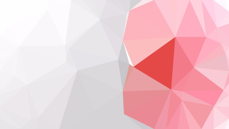 Pink and Grey Low Poly Abstract Background Design Illustrator