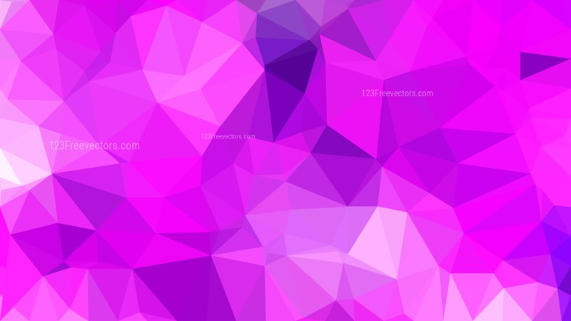 Pink and Purple Polygon Background Graphic Design Illustration