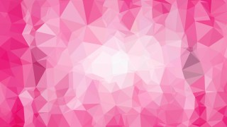 Abstract Pink and White Polygonal Background Template