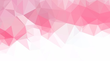 Abstract Pink and White Polygon Pattern Background Illustration