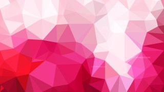 Abstract Pink and White Low Poly Background Image