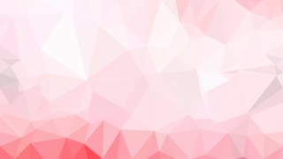 Pink and White Polygonal Background Design Illustration