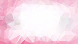 Abstract Pink and White Polygon Background Graphic Design Image