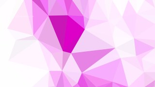 Abstract Pink and White Polygonal Background Design Vector Image