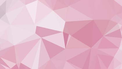 Pink and White Polygon Pattern Abstract Background Vector Image