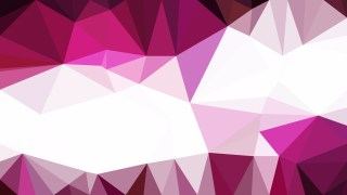 Pink and White Low Poly Abstract Background Illustrator