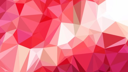 Pink and White Polygon Background