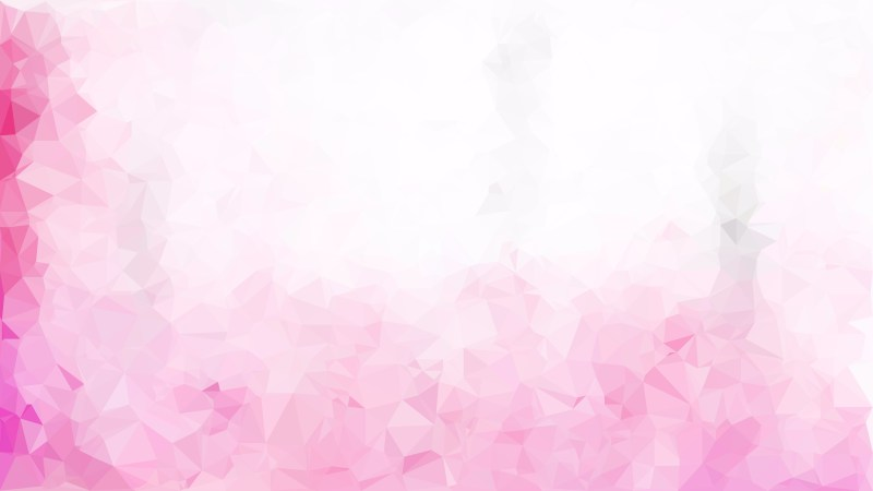 Pink and White Polygon Pattern Background