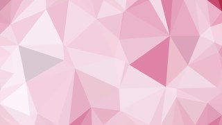 Pink and White Low Poly Background