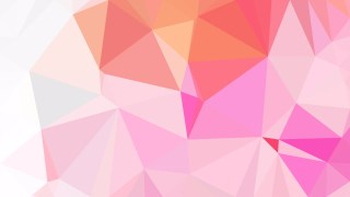 Abstract Pink and White Polygon Background