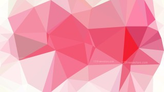 Abstract Pink and White Low Poly Background