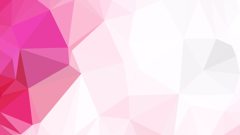 Pink and White Polygon Background Graphic