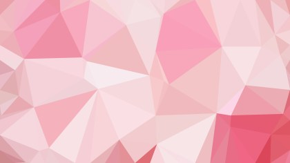 Pink and White Polygon Background Template Design
