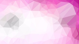 Pink and White Polygonal Background Template Illustrator