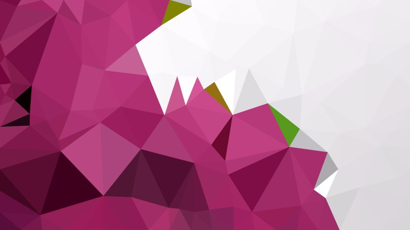 Abstract Pink and White Low Poly Background Template Vector Graphic
