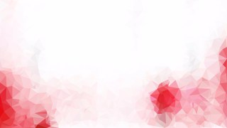 Pink and White Polygon Background Design