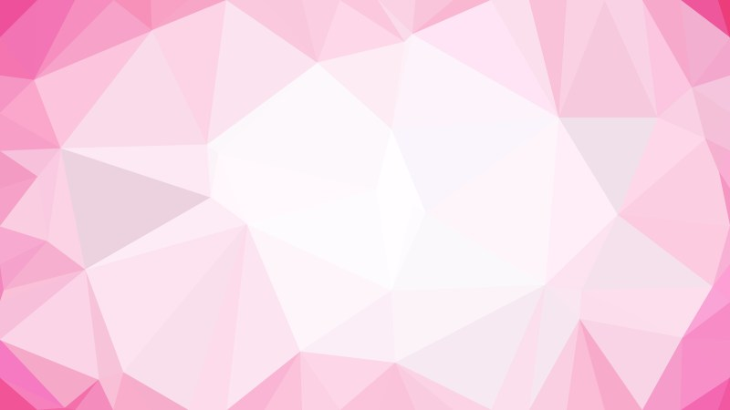 Abstract Pink and White Polygon Background Template Graphic