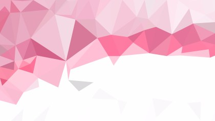 Abstract Pink and White Low Poly Background Illustration