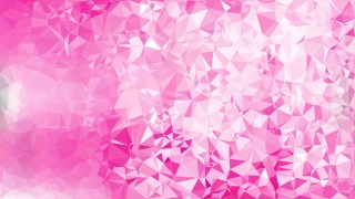 Abstract Pink and White Polygon Background Design Vector