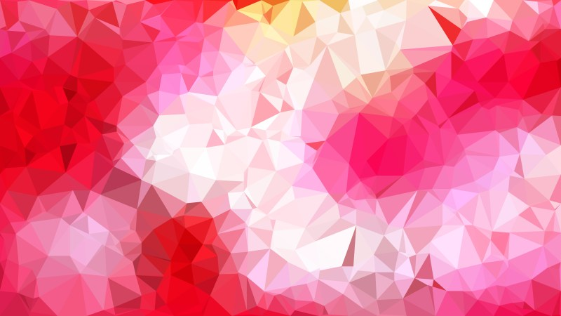 Abstract Pink and White Polygon Pattern Background