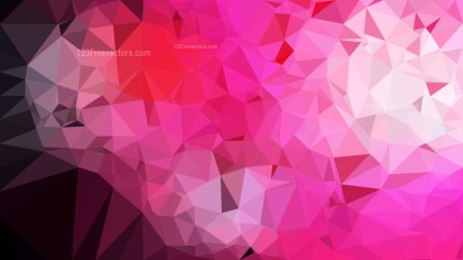 Abstract Pink Black and White Polygonal Background Design Vector Image