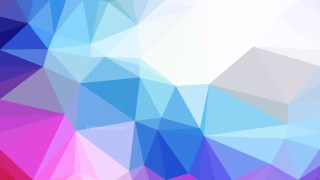 Pink Blue and White Polygonal Abstract Background Vector Illustration