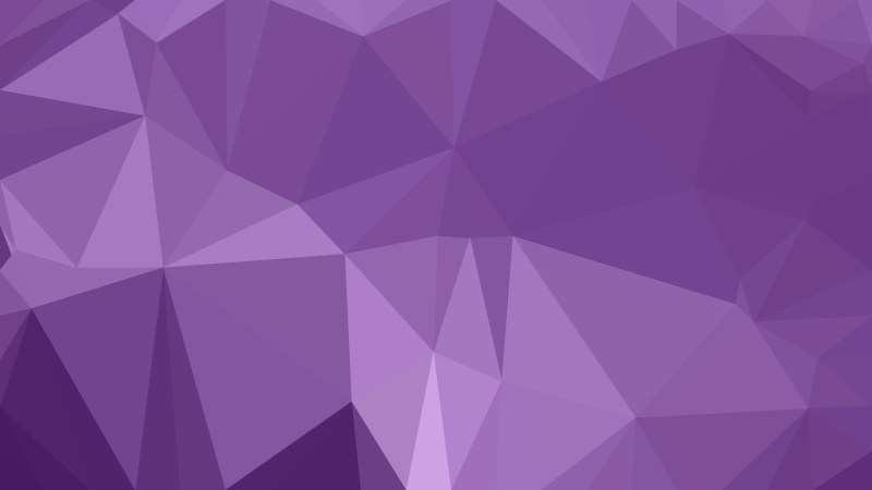 Purple Low Poly Abstract Background Design Vector
