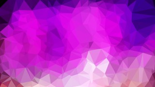Abstract Purple Triangle Geometric Background Vector