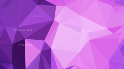 Purple Polygon Abstract Background