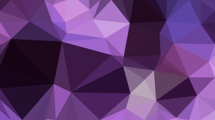 Abstract Purple and Black Polygon Background Design Vector Graphic