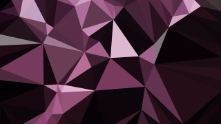 Abstract Purple and Black Triangle Geometric Background Illustration