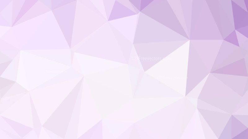 Abstract Purple and White Low Poly Background Template Vector Graphic