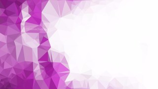 Abstract Purple and White Polygonal Background Vector Image