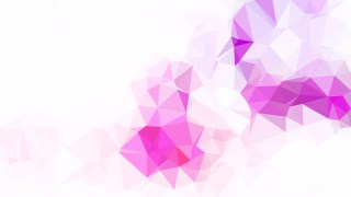 Purple and White Geometric Polygon Background