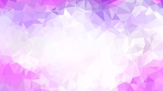 Purple and White Polygon Background Design Graphic