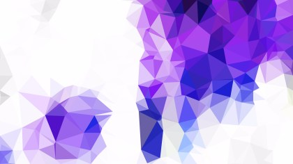 Purple and White Polygonal Abstract Background