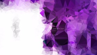 Purple and White Polygon Abstract Background Illustrator