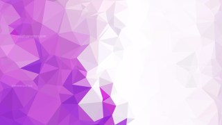 Purple and White Triangle Geometric Background Vector