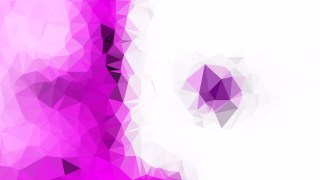Purple and White Polygon Background