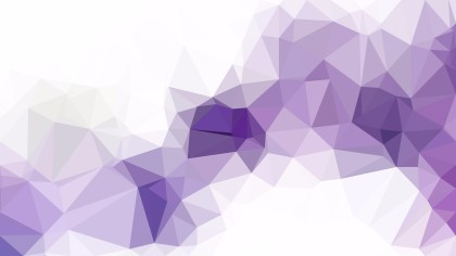 Purple and White Polygon Pattern Background