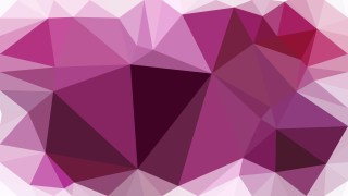Purple and White Polygon Triangle Background